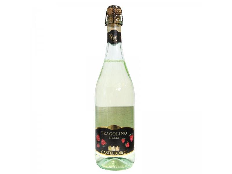 Fragolino Bianco на основе вина со вкусом клубники 0,75 л.