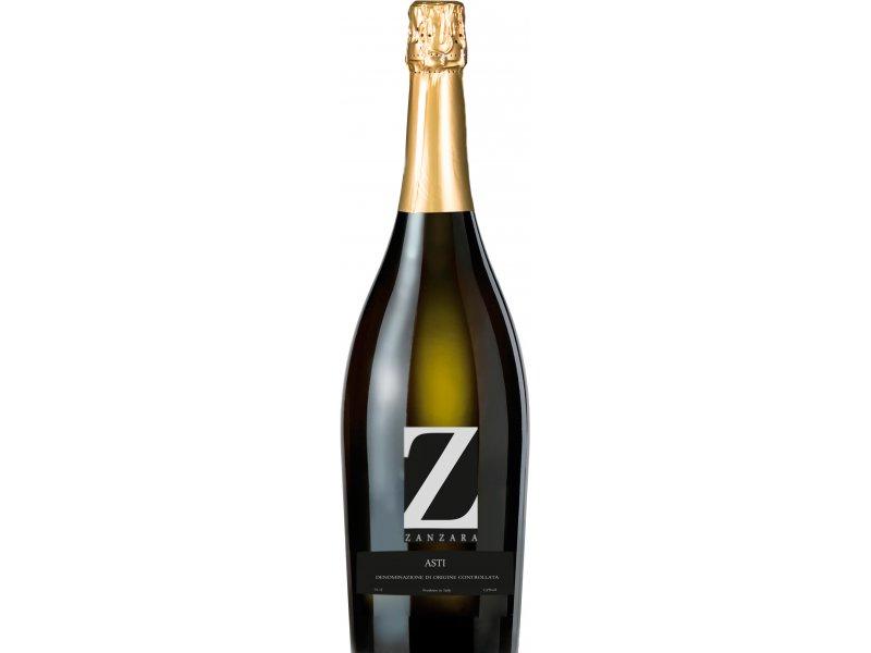 Вино игристое Zanzara Asti , Асти Занзара белое сладкое  7.5% алк  0.75 л