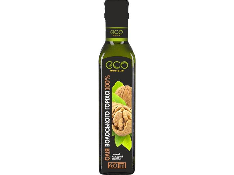 Олія волоського горіха ТМ «Eco-olio» 250 мл