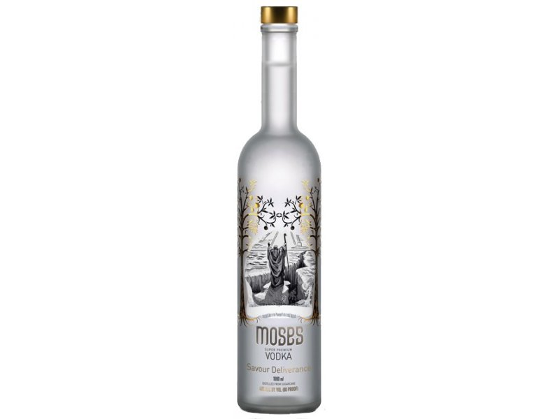 Водка кошерная Moses Vodka Super Premium 40% 0,7л