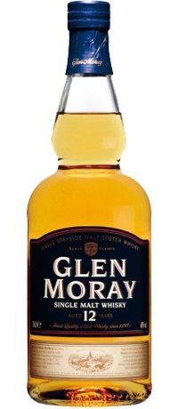 Виски Glen Moray Single Malt 12 лет в тубусе 0,7л