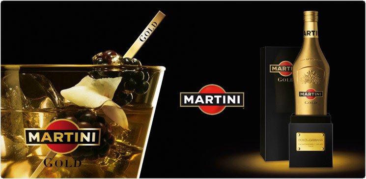 Мартини Голд Дольче Габбана Martini Gold  Dolce & Gabbana 0,7л