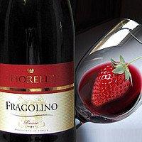 Вино игристое Фраголино Фиорелли Fragolino Fiorelli красное п/сл 0,75 л