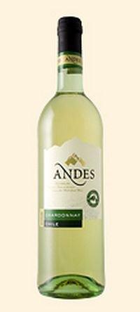 Вино Andes Chardonnay 0.75 л
