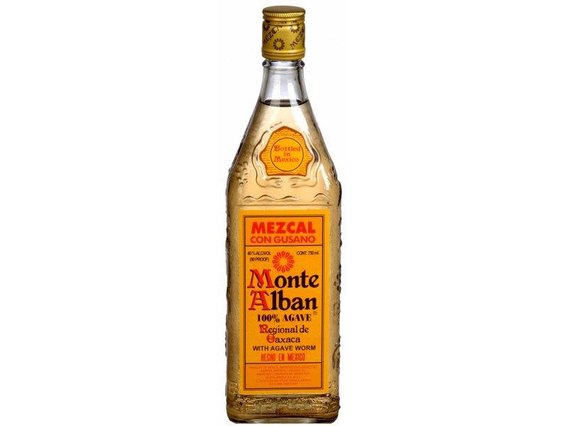 Мескаль Монте Албан с гусеницей Monte Alban 0,75л