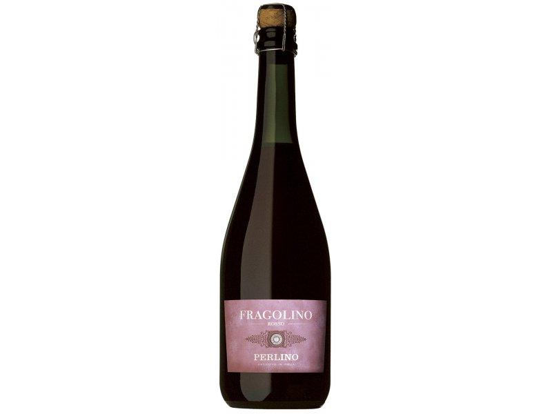 Вино Игристое Фраголино Fragolino Rosso Perlino
