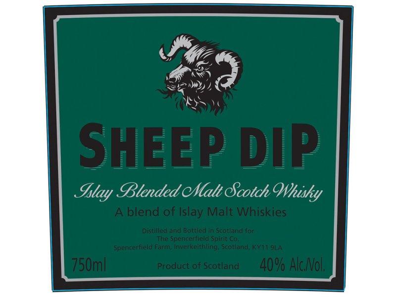 Виски Spencerfield Spirit Sheep Dip Islay Blended Malt , 0,7л