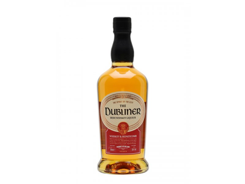 The Dubliner Honey Flavored Irish Whiskey Liqueur Медовый 0,75л