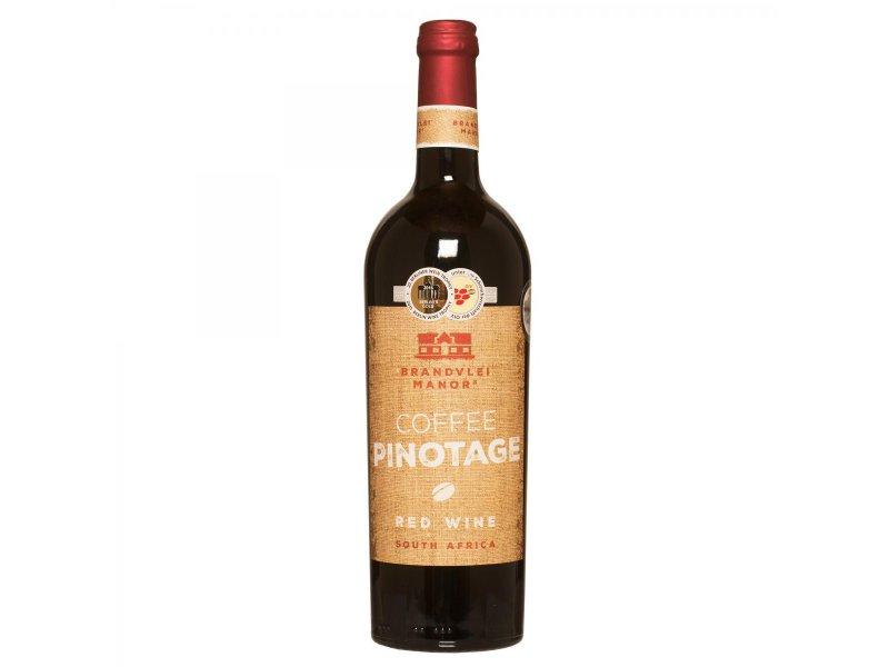 Вино Пинотаж Кофейный BRANDVLEI MANOR COFFEE PINOTAGE 14,0%VOL 0,75L