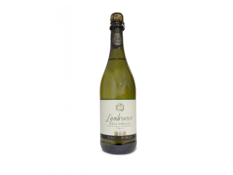 Вино игристое полусухое Lambrusco Dell'Emilia Castelborgo 0,75 л.