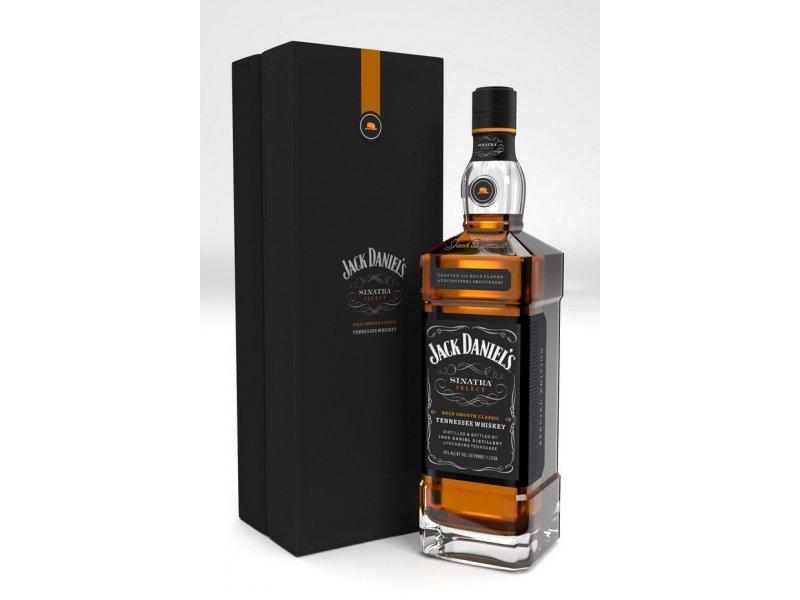 Виски Jack Daniel's Frank Sinatra Джек Дениэлс Френк Синатра 1литр