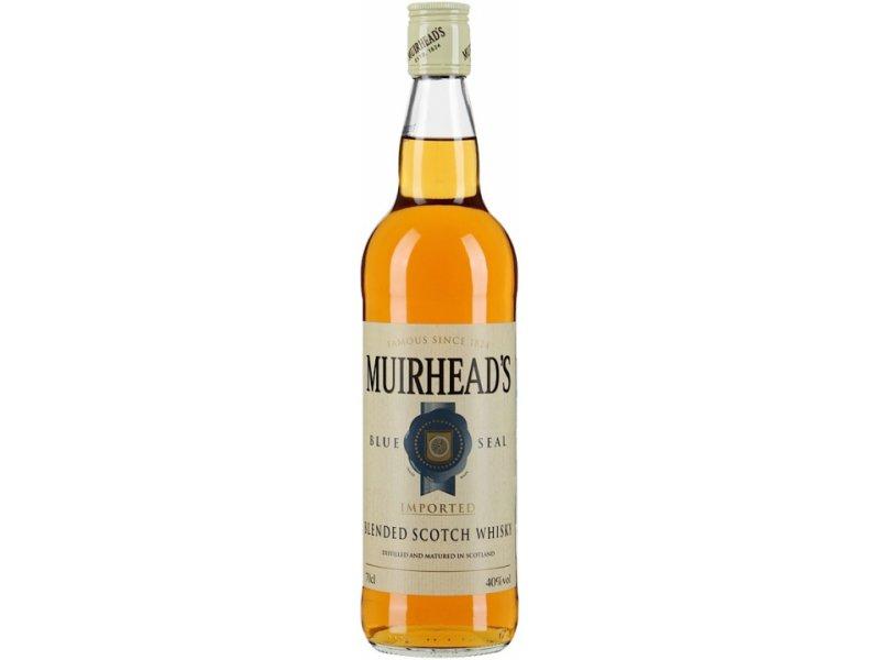 Виски Muirhead's Blue Seal 3 Years Old 0.5л