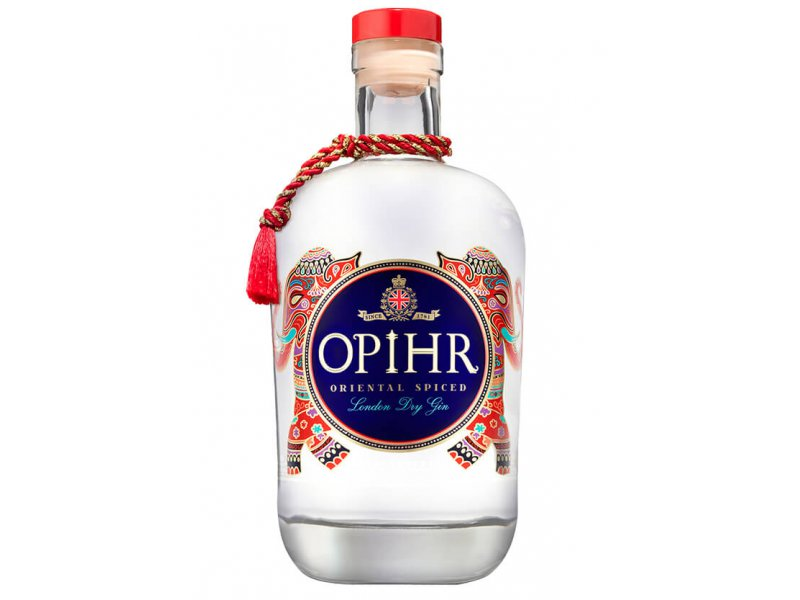 Джин OPIHR Oriental Spiced London Dry Gin 42,5% 0,7л