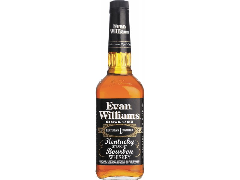 Бурбон Heaven Hill Distilleries Evan Williams Black 0.75л