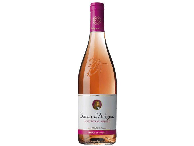 Вино Baron D Arignac розовое сухое 0,75л