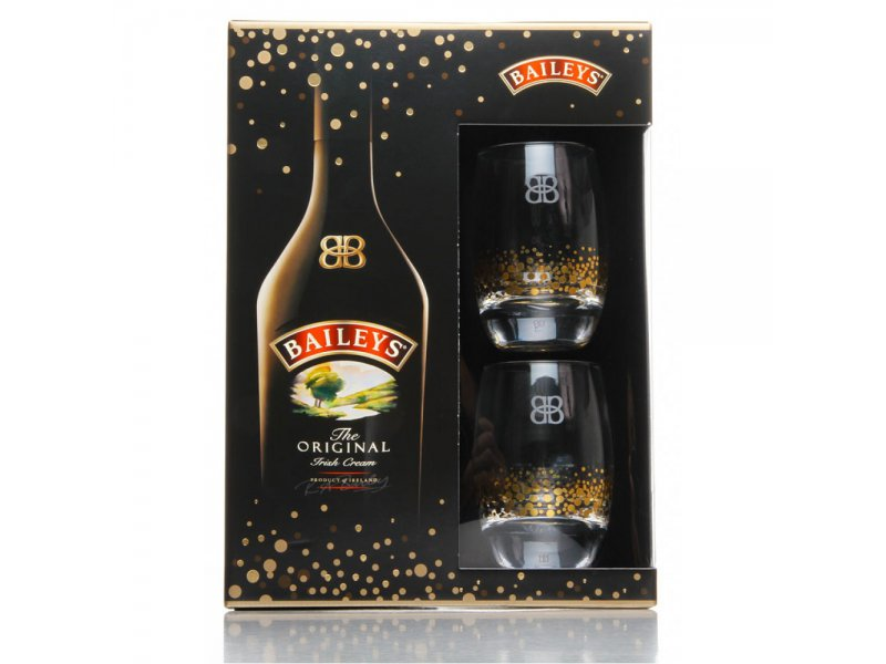 Ликер Baileys 0,7л с 2 бокалами