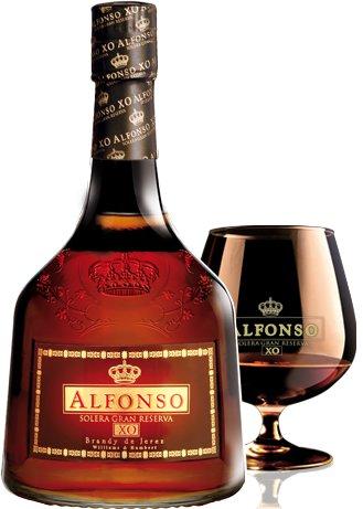 Бренди Alfonso XO Solera Gran Reserva, gift box, 0.7 л