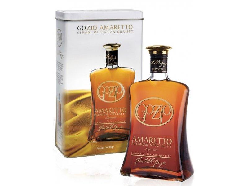 Ликер амаретто Gozio Amaretto Premium Specialtiy 1 л