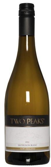Вино  Two Peaks Marlborough Sauvignon Blanc 0,75 л