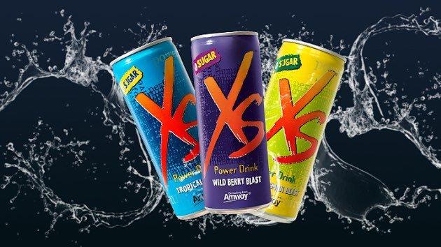 XS Power Drink Энергетический напиток со вкусом тропических фруктов, лимона, грейпфрута или лесных ягод