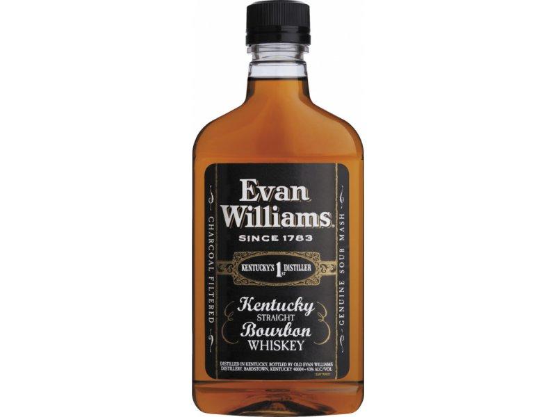 Бурбон Heaven Hill Distilleries Evan Williams Black 0.375л