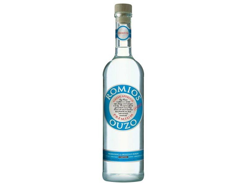 Узо Ромиос анисовый напиток спиртовой Cavino Romios Ouzo  38% 0,7 л