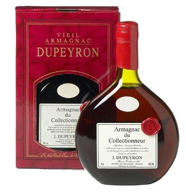 Арманьяк Dupeyron Seigneur Gascon gift box Дюпейро Сенье Гаскон 0,7л