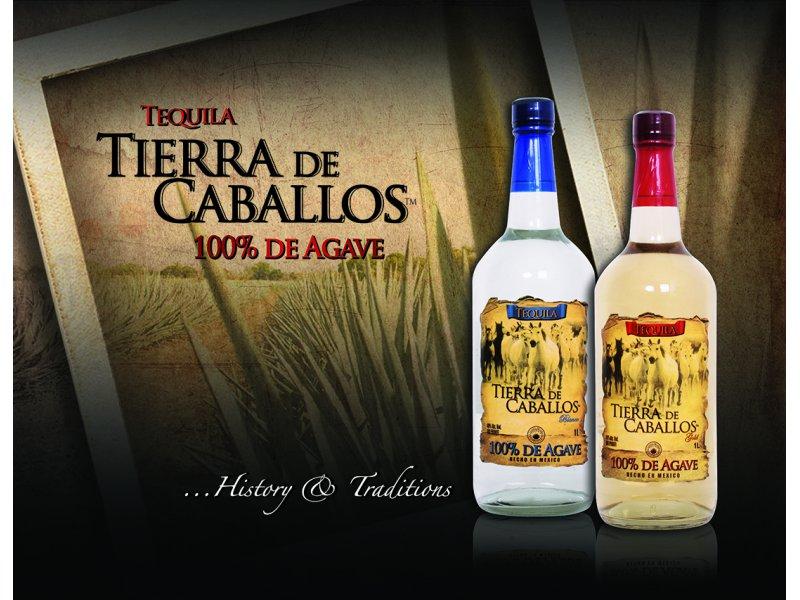 Текила Tierra de Caballos Gold 1 L