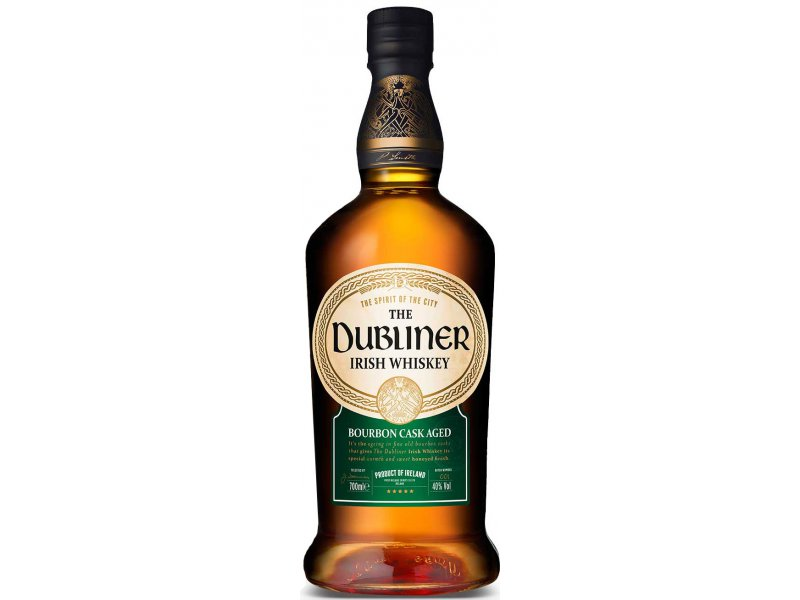 Виски The Dubliner Irish Whiskey bourbon casks 0,75 л