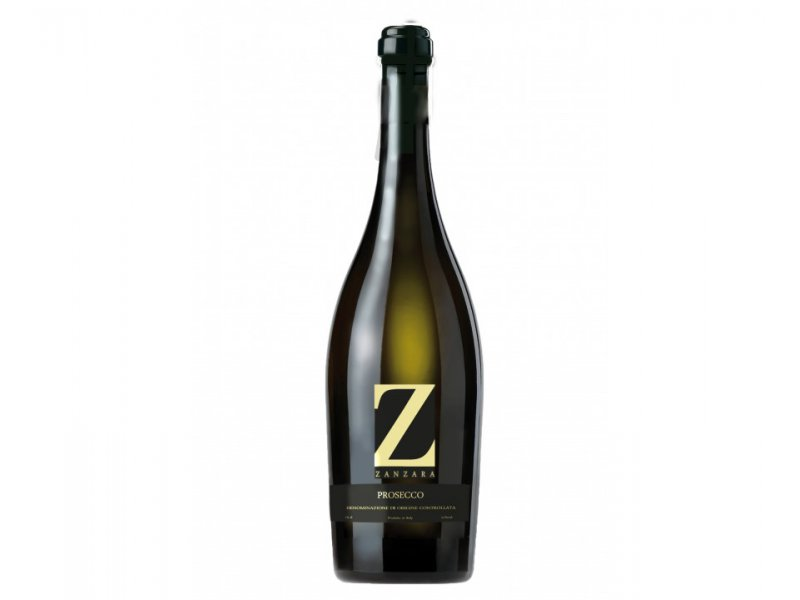 Вино игристое Prosecco Doc Spumante Extra Dry Zanzara, Просекко Занзара 11%, 0.75 л