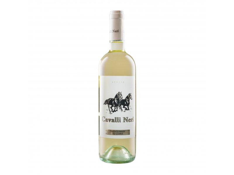 Белое сухое вино Cavalli Neri Bianca Toscana IGT Chardonnay 0,75 л .
