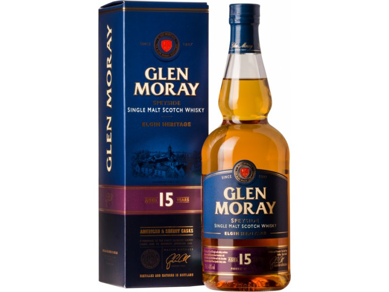 Виски Glen Moray 15 Years Old